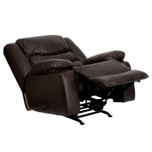 Flash Furniture MEN-DSC01078-BRN-GG Plush Leather Rocker Recliner  sc 1 st  Best For Back Pain & Top 5 Best Recliners For Back Pain Relief u2013 2017 Reviews (Top ... islam-shia.org