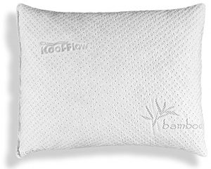 pillow 7 pillow u2013 bamboo shredded memory foam pillow u2013 koolflow microvented bamboo cover dust mite resistant u0026 machine washable u2013 stop