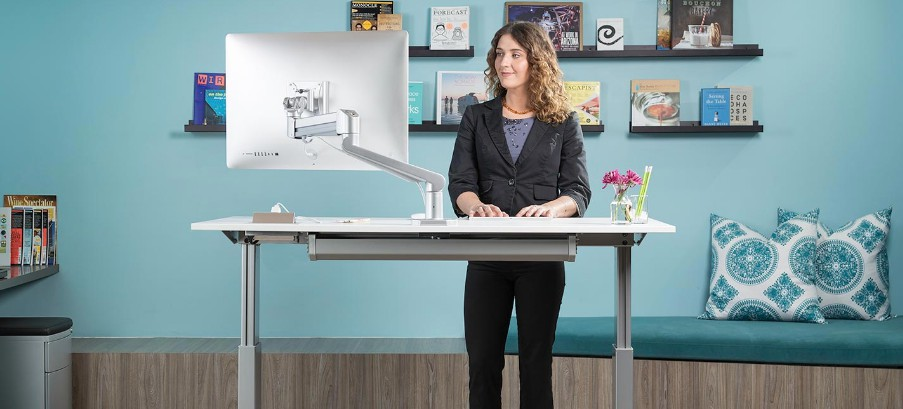 5 Best Office Standing Desks For Back Neck Pain 2019 Definitive